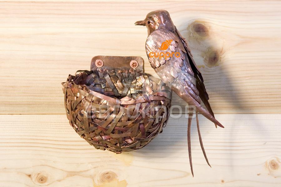 Поделки своими руками гнездо с птенцами 21